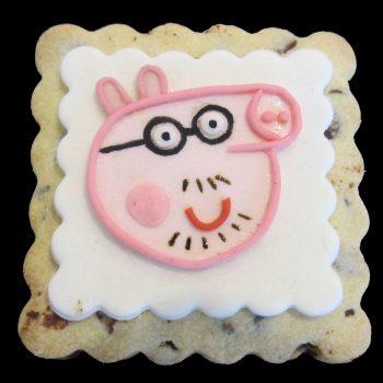 Biscotto decorato di Papa Pig