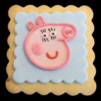 Biscotto decorato di Peppa Pig