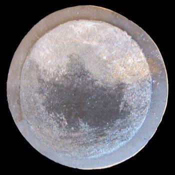 Biscotto di Plutone decorato in pasta di zucchero