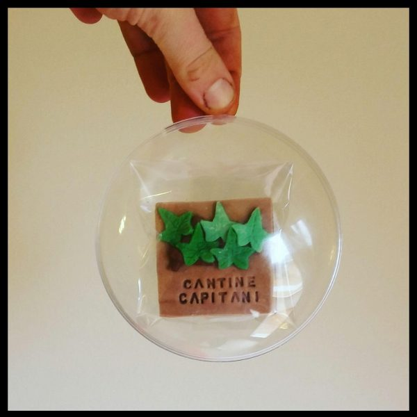 Biscotto vite in una palla trasparente