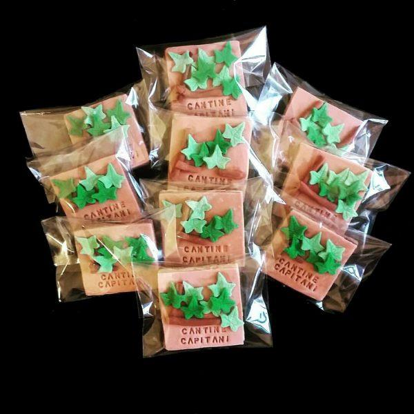 Biscotti vite decorati in pasta di zucchero