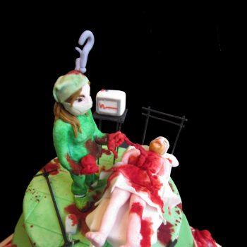 Dottoressa in pasta di zucchero