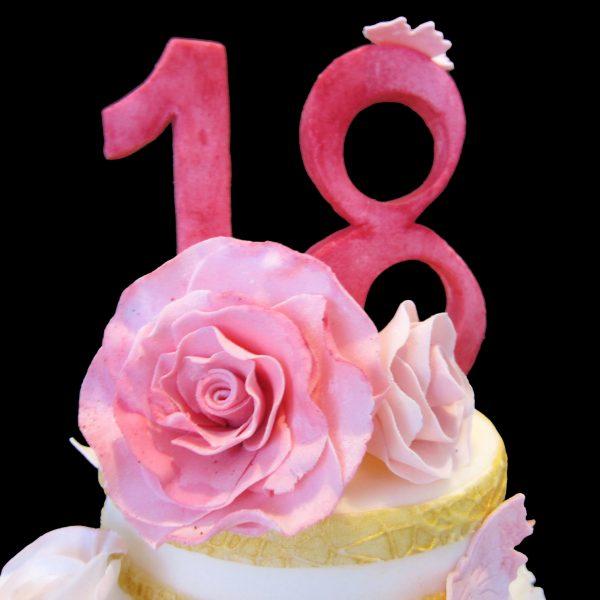 18 in pasta di zucchero
