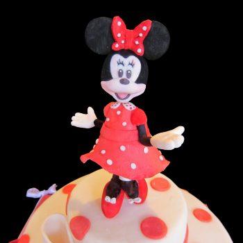 Minnie in pasta di zucchero