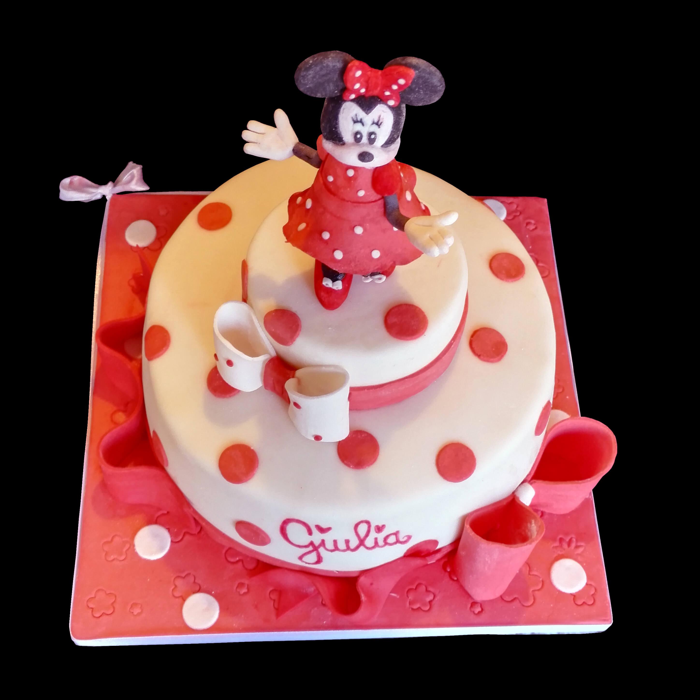 Estremamente La torta di Minnie per il primo compleanno di Giulia – Via dei Golosi KC85