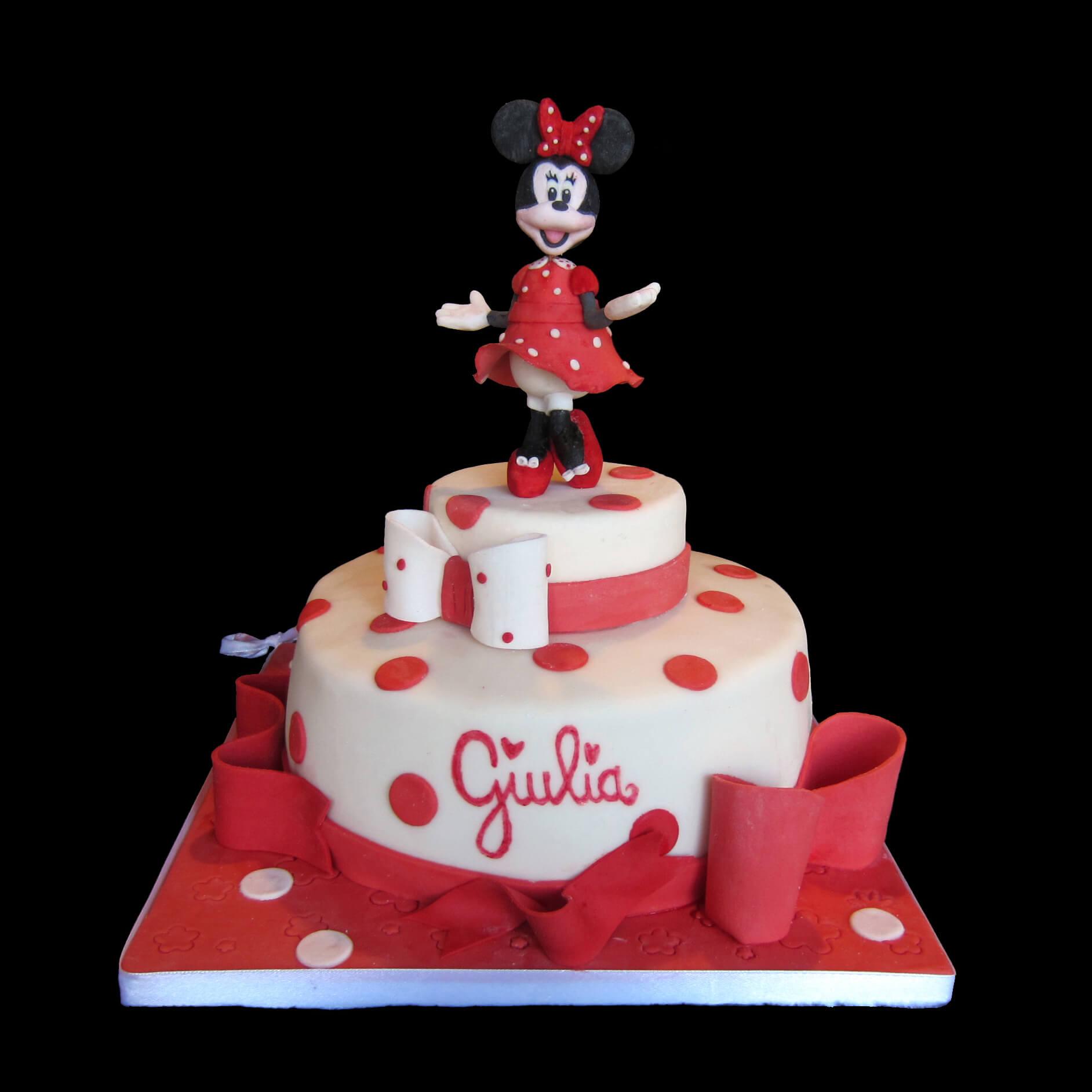 Super La torta di Minnie per il primo compleanno di Giulia – Via dei Golosi WZ48