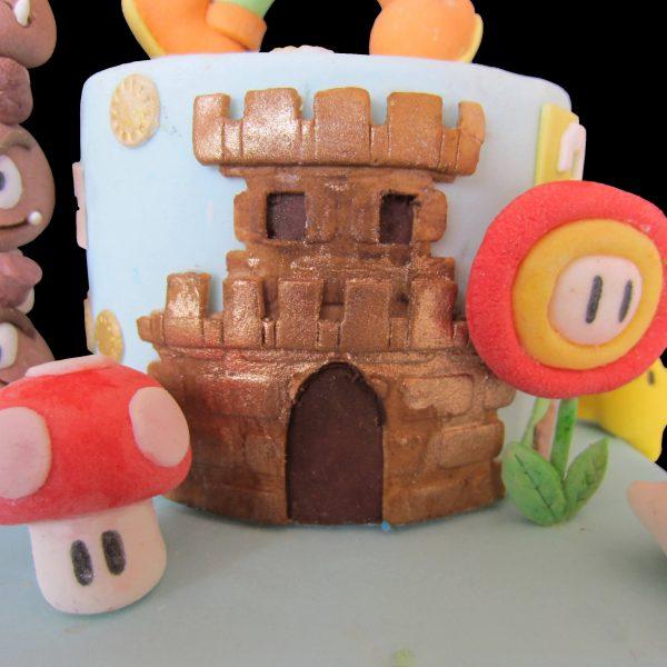Castello di Mario in pasta di zucchero